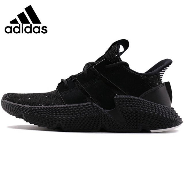 save off 3316b 2c2fe Official Original Adidas PROPHERE Unisex Running Shoes Men s and Women s  Sneakers Breathable Black Comfortable Sneakers B22681-in Running Shoes from  Sports ...