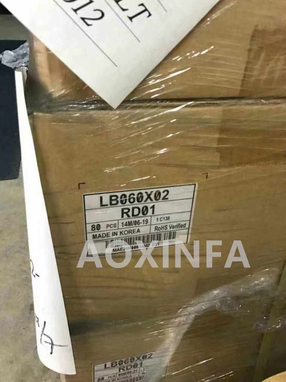 Ferr الشحن الأصلي ل LB060X02-RD01 LB060X01-RD01Ebook قارئ E-الحبر lcd شاشة عرض لوحة ل يريفير قصة HD digma S60