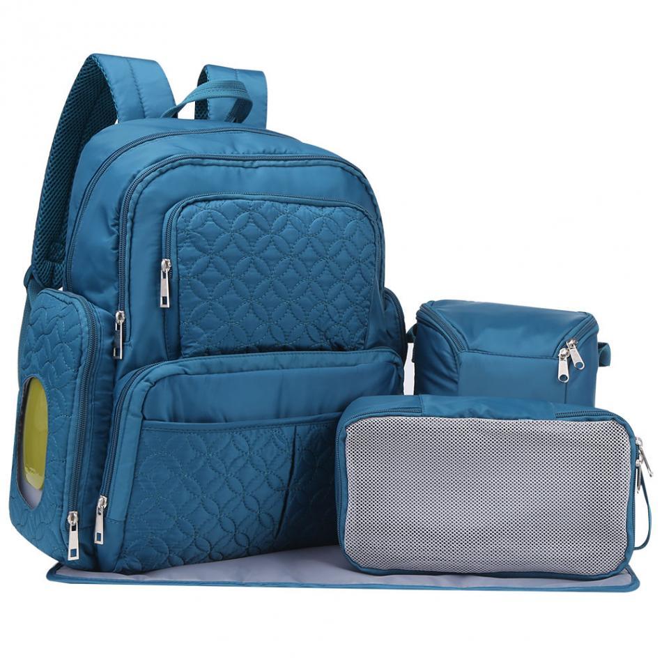 Kids Changing Bag Multifunction Mummy Diaper Backpack Baby Backpacks Maternity Stroller Bag High Quality Nylon Baby Diaper Bag