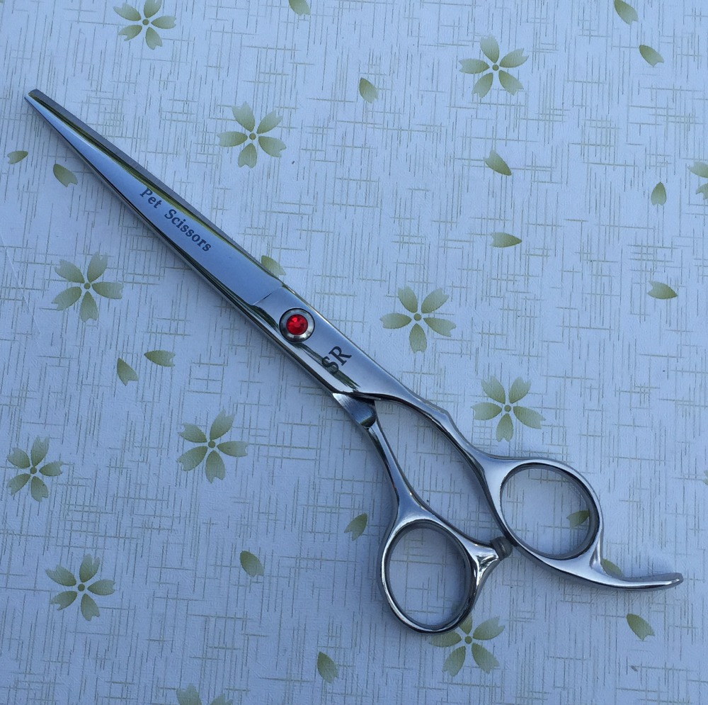 "7 ""Flachschneider Premium Sharp Edge Pet Dog Grooming Scissors Shears"