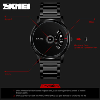 Eye Style Quartz Watch For Men 3