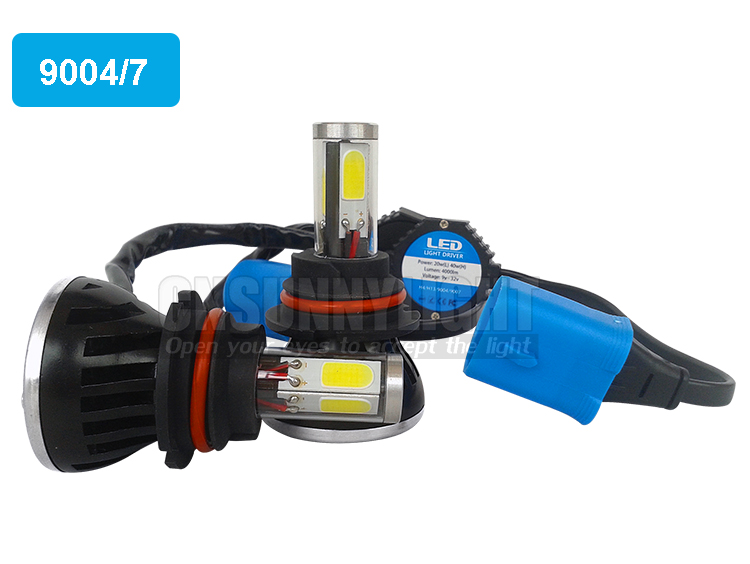 H4 H7 H13 H11 H1 9005 9006 COB LED Headlight 80W 8000LM Super Brigh Car LED Headlights Bulb Head Lamp Fog Light Pure White 6000K (4)