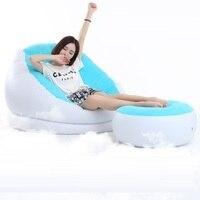 4085 Singolo moderno e minimalista creativo piccolo divano, pisolino letto, sedia a sdraio, gonfiabile divano sedia