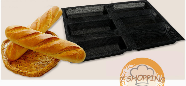 6 7 Inch Sub Rolls Baking Pan Non Stick Silicone French
