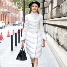 Luxurry Hotsale Women's 2015 Fashion Winter New Arrival Fashion Turn-down Collar Slim Medium-long Thickening Warm Down Coat