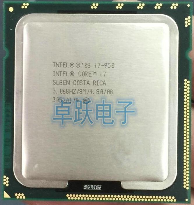 Bảng giá Intel Core i7 950 I7 950 Processor Quad-Core LGA 1366 3.06GHz 4.8GT/s SLBEN CPU 950 Phong Vũ