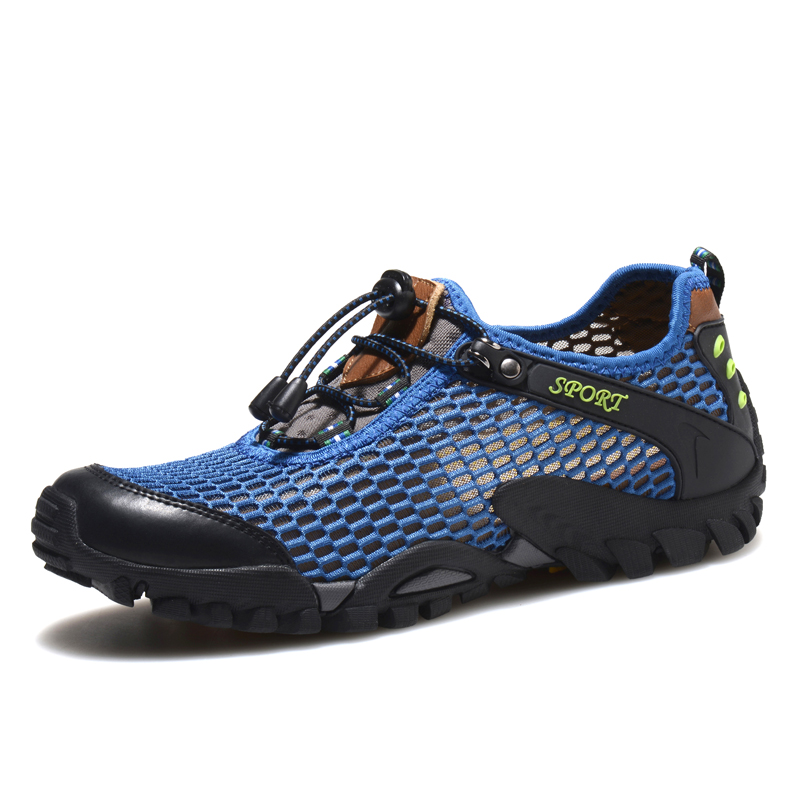 Respirant hommes chaussures Sport En Plein Air Chaussures de randonnée Escalade chaussures de Marche De L'eau Aqua Trekking Chaussures Hommes sneakers zapatillas hombre