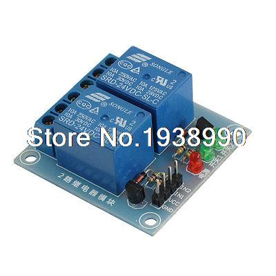 DC 24V 2 Channel High Level Trigger PLC Relay Module for Arduino AVR DSP TTL 6es7284 3bd23 0xb0 em 284 3bd23 0xb0 cpu284 3r ac dc rly compatible simatic s7 200 plc module fast shipping