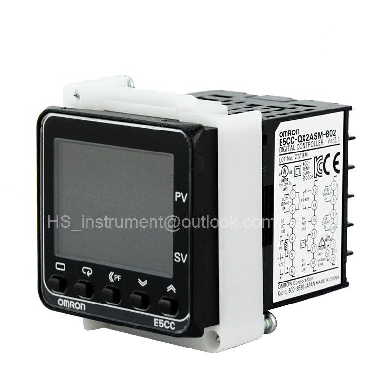 Omron Digital Temperature Controller E5CC-QX2ASM-802 AC100~240V 50/60Hz 4~20mA все цены