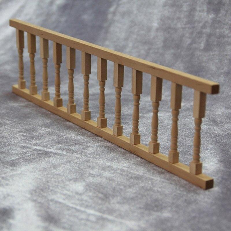 12 pollici fai da te in legno ringhiera guardrail for Mobilia in inglese