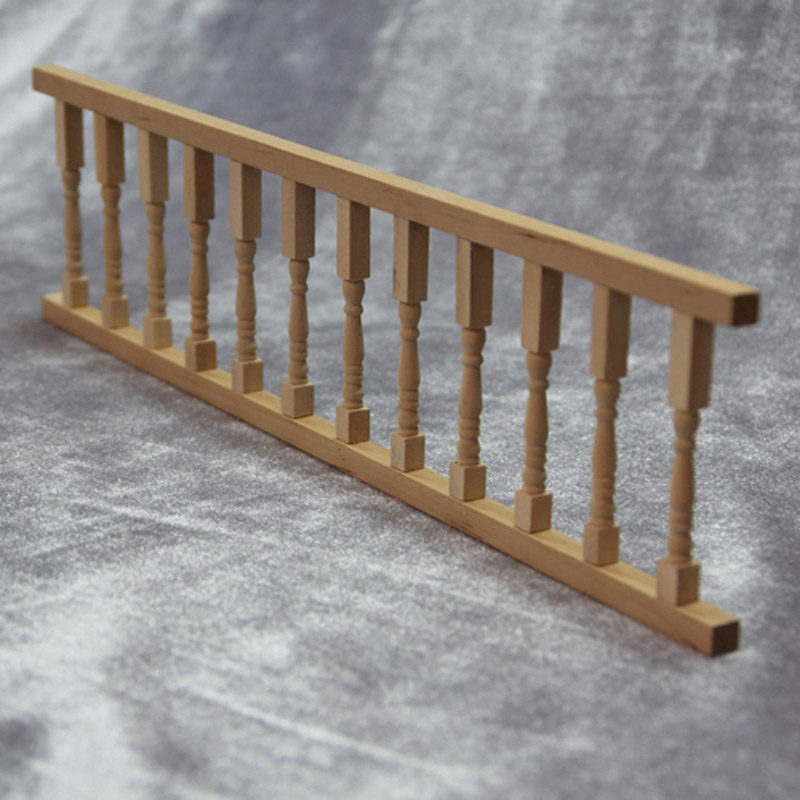 """8 Pack Oak Stair Baluster Spindle Set Unfinished Wood Square Top 31"""" 8"""