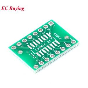 Image 4 - 35 ชิ้นบอร์ด PCB SMD Turn To DIP Adapter Converter แผ่น SOP MSOP SSOP TSSOP SOT23 8 10 14 16 20 24 28 SMT DIP
