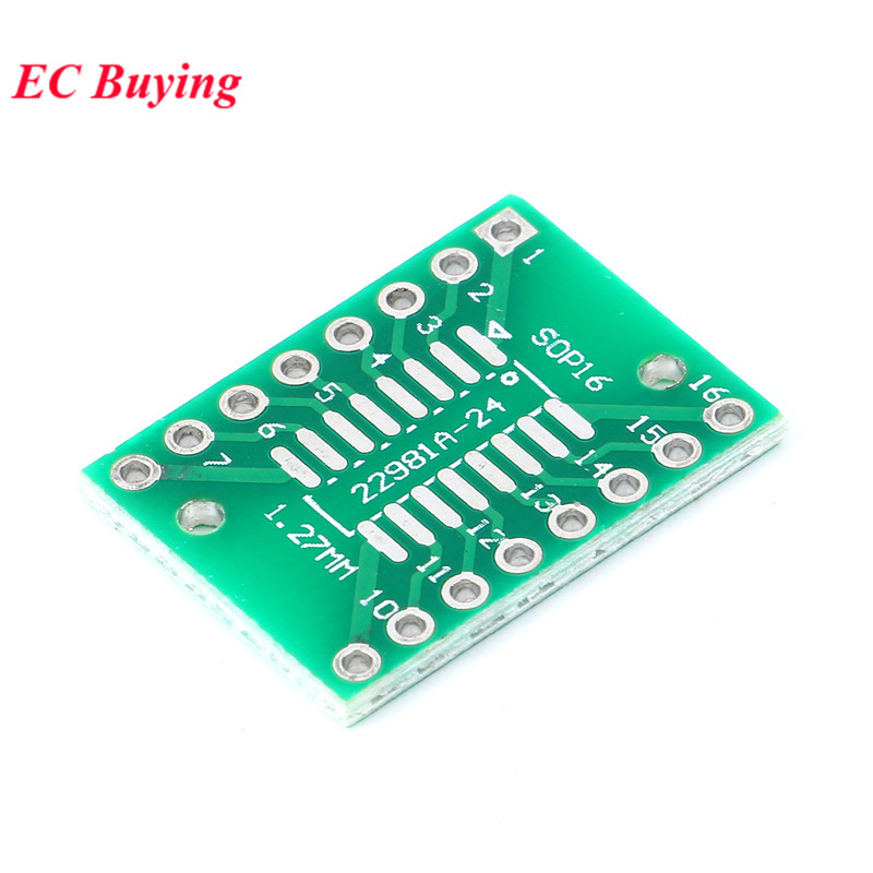 Image 4 - 35pcs PCB Board Kit SMD Turn To DIP Adapter Converter Plate SOP MSOP SSOP TSSOP SOT23 8 10 14 16 20 24 28 SMT To DIP-in Integrated Circuits from Electronic Components & Supplies