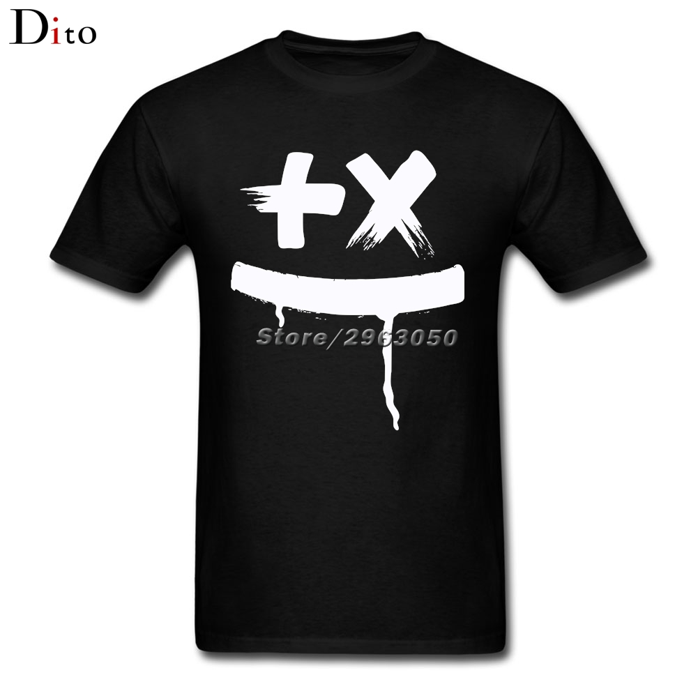 Martin Garrix Logo T Shirt Men Male Digital Direct Printing White Short Sleeve Custom Big Size Mens T-shirts