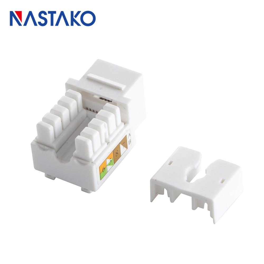 cat6 keystone jack rj45 keystone module connector utp cat5e cat6 adapter socket jacks for network blank [ 1000 x 1000 Pixel ]