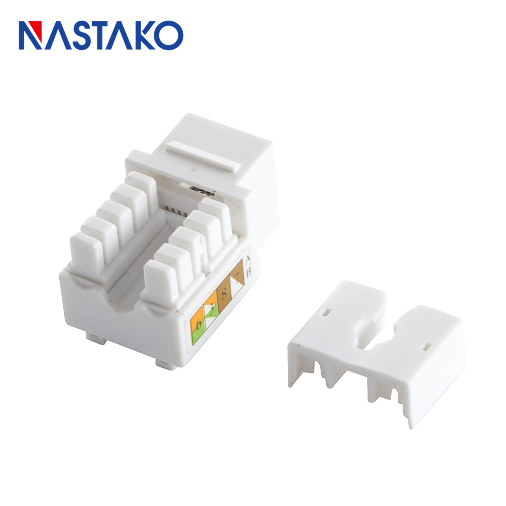 medium resolution of cat6 keystone jack rj45 keystone module connector utp cat5e cat6 adapter socket jacks for network blank