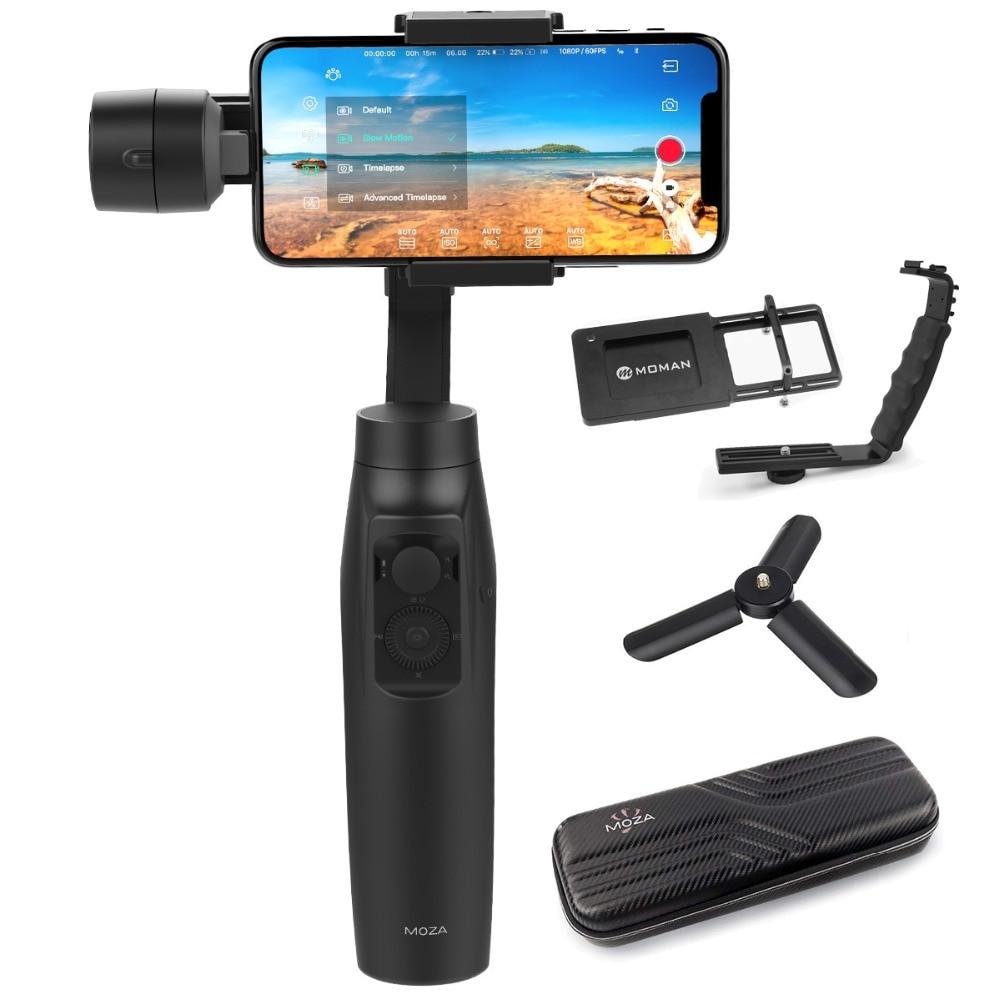 MOZA mi ni-mi mi ni mi Gudsen weltweit Erste Smartphone Gimbal Stabilisator mit Wireless Charging, beste Alternative zu Glatt Q/4