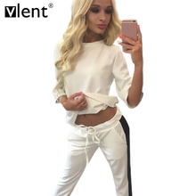 Vlent Two Piece Striped