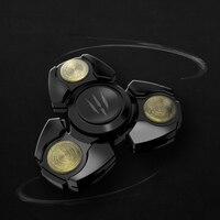 MINI ABS Fidget Spinner Hand Tri Spinner Beyblade EDC Toys For Adult Children Kids Finger Gyroscope