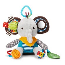 Baby Infant Teether Preferred Soft Appease Calm Toys Developmental Cute Doll Short Floss Convenient Carry Toys Bed Bells