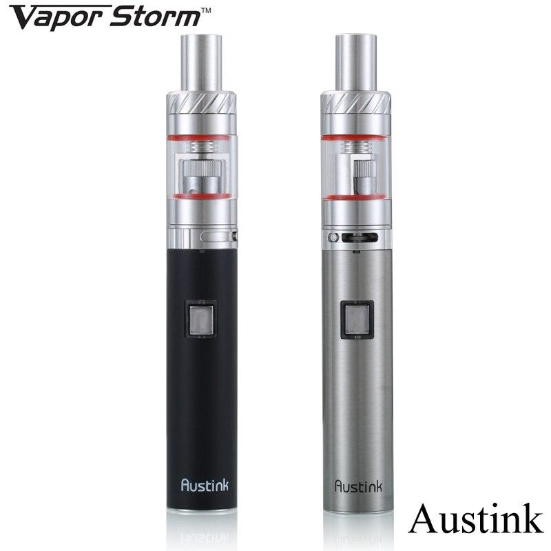 Vape Pen Electronic Cigarette Kit Vapor Storm Austink A19 E Hookah EGO E Cigarette Kit Shisha