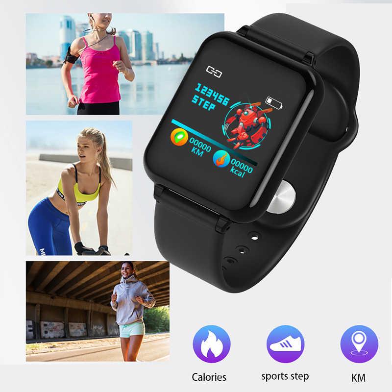 Новинка 2019, смарт-часы для мужчин и женщин, монитор кровяного давления, фитнес-трекер, смарт-браслет, шагомер, смарт-браслет