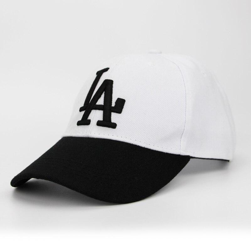 2018 Nuova lettera LA Cappellini da Baseball Dodgers Ricamo Hip Hop ... 0454283de76a
