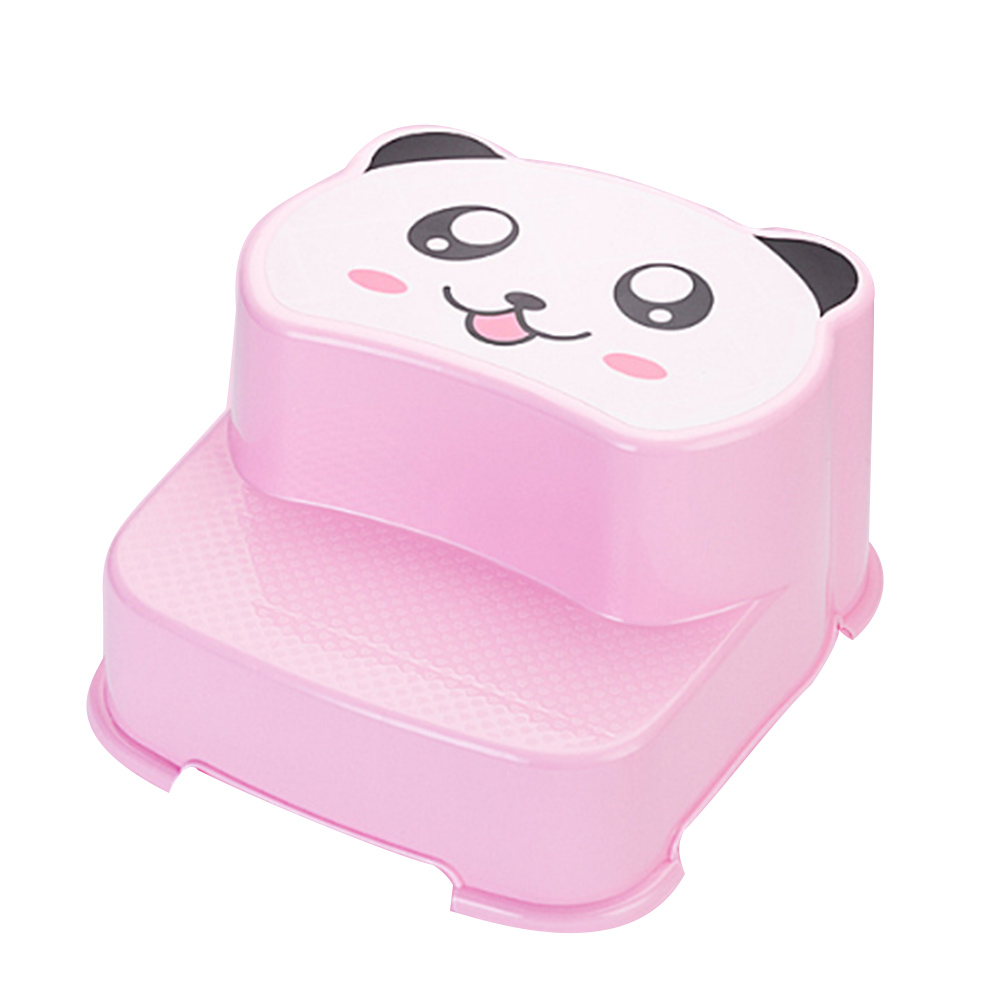 Dual Height Step Stool Children booster stool toilet anti-slip bathroom stool pregnant w ...