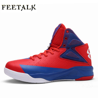 2017 New Children Basketball Shoes Black White Kids Basketball Sneakers Breathable Boys Trainers Cheap Children S