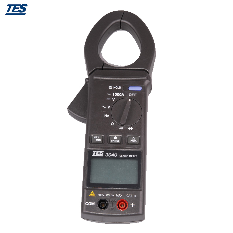 TES-3040 Clamp Test,Digital Multimeter,AC Clamp Meter AC 400/1000A tes ro 18 14 ts 323 35