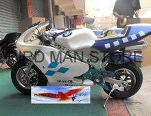 Карманный велосипед 49cc Мини Gas Powered Мотоцикл ход 2 фабрики сразу 100% гарантия
