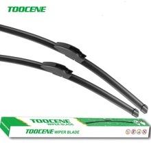 Toocene Windshield Wiper Blades For Nissan Juke 2010-2016 Pair 22''+14'' front window Windscreen Rubber Car Accessories
