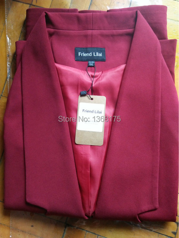 Venta de gota Trajes de pantalón Mujeres Trajes de negocios de - Ropa de mujer - foto 5