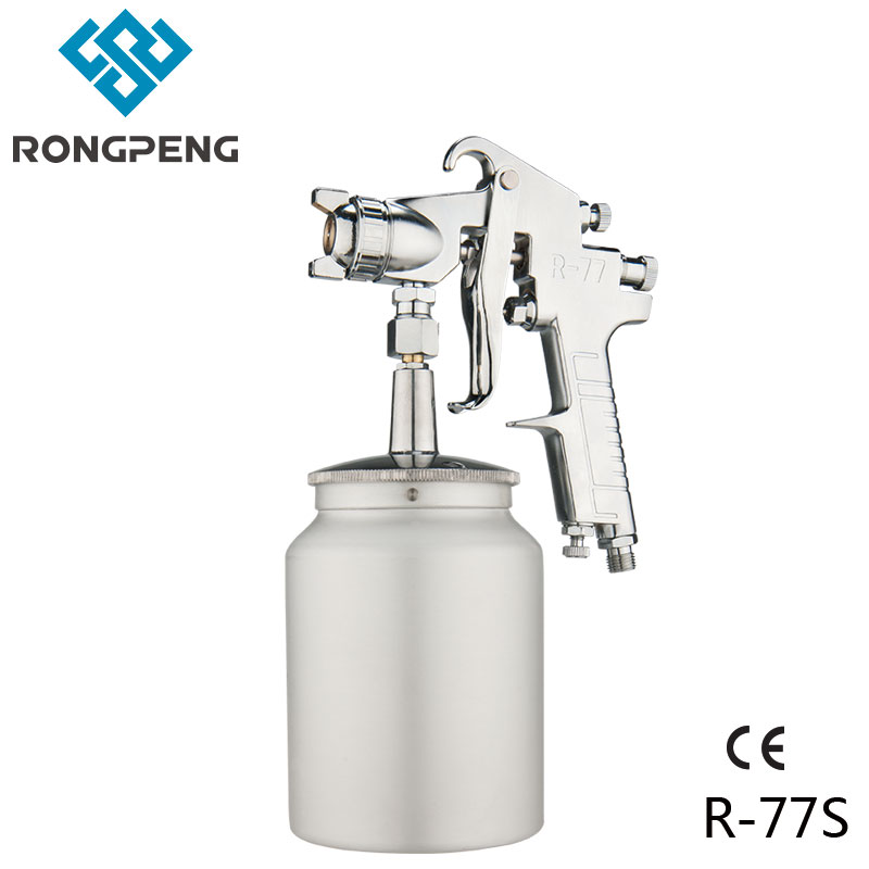 RONGPENG INDUSTRIAL SPRAY GUN R 77S 2.0MM 1000CC 3.0MM FOR HIGH VISCOSITY GLUE TOP GRADE BASE COAT