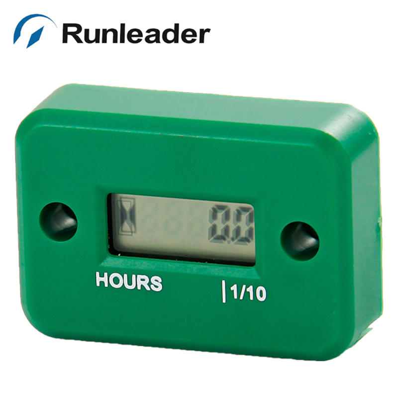 RL-HM006A Waterproof Digital Inductive Hour Meter for motocross boat outboard jet ski chainsaw snowmobile pit bike engine