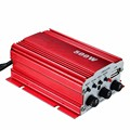 Hi-Fi Power Amplifier 500W 2 Channel Stereo Audio MP3 USB Car Vehicle Remote For Shopping Malls Hotels Family