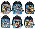 New Cartoon Puppy Patrol Backpack Boys Girls School Bags Children Mochila Infantil Kindergarten Backpacks Kids Bag