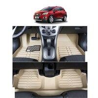 fast shipping leather car floor mat carpet rug for chevrolet trax chevrolet Tracker 2013 2014 2015 2016 2017 2018