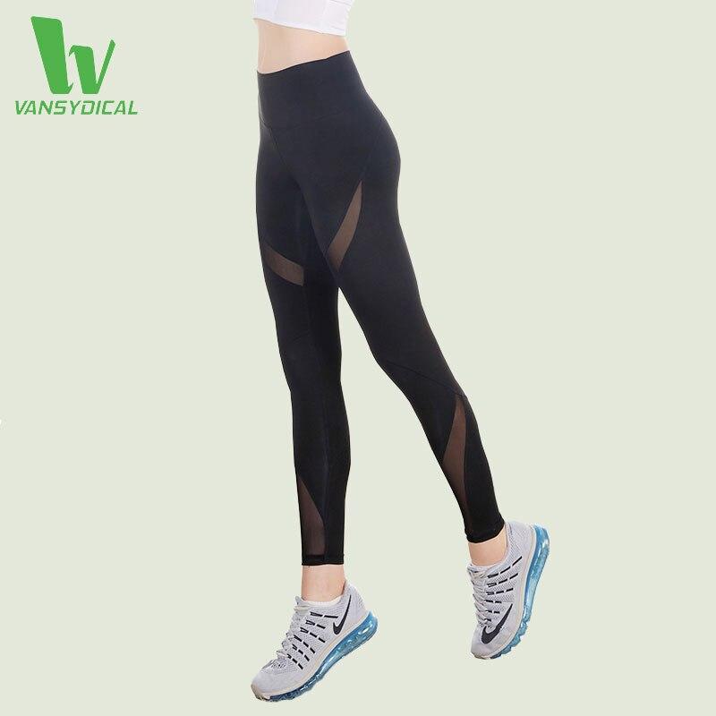 VANSYDICAL font b Leggings b font For font b Women b font Yoga Compression Pants font