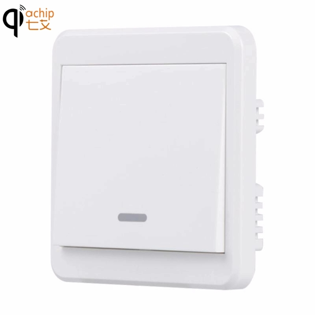 Uk Plug Wifi Smart Lamp Switch Light Wall Push Panel Remote Control Work For