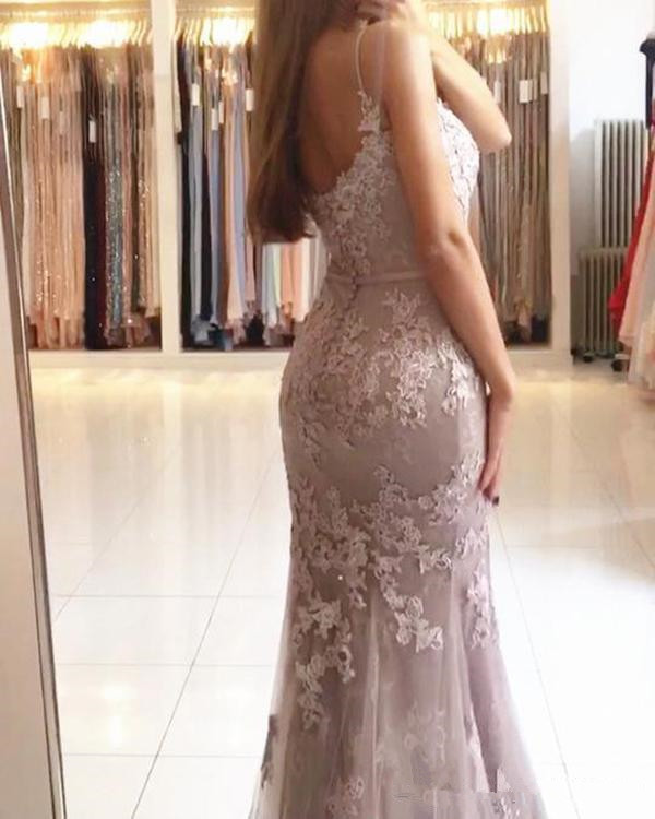 Glamorous-Sweetheart-Spaghetti-Straps-Mermaid-Evening-Dresses-Lace-Appliques-Prom-Party-Dresses-Formal-Dresses-Vestidos-De (1)