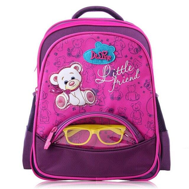 e74f5d5b500 Niños mochilas escolares para niños coches de carreras niñas cartera oso  lindo mochila escolar mochilas ortopédicos