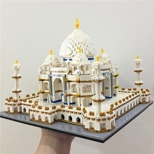 Image 5 - Architecture block set Landmarks Taj Mahal Palace Model Building Blocks Children Toys Educational 3D Bricks Kids Gifts