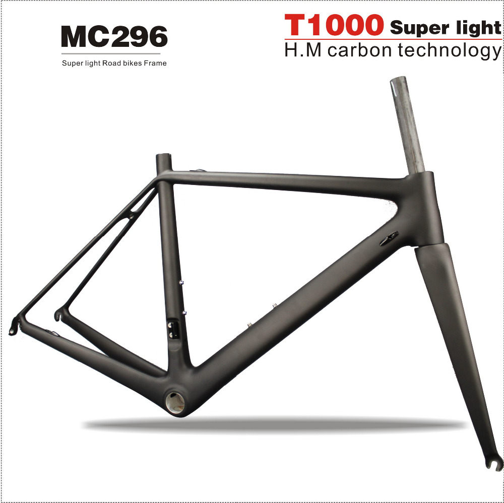2018 T1000 Road Bike Frame Carbon Di2 Full Carbon Racing Frames,Super Light Carbon Road Frames With UD Matte BSA Or BB30