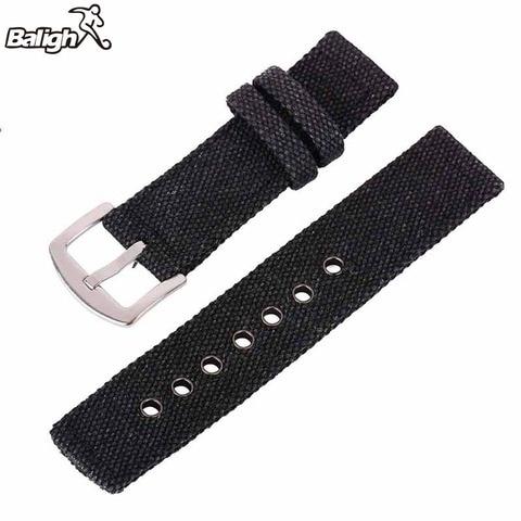 New 18mm 20mm 22mm 24mm Canvas Camouflage Watch Band Strap For Men Women   Watches Belt Accessories Wrist Watch Bracelet Karachi
