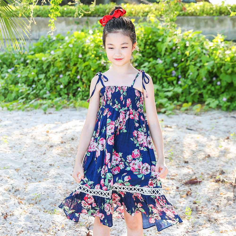 Elegant Bohemian Beach Dress 2108 Summer Big Girls Dresses Kids Clothes Teens Clothing For 4 5 6 7 8 9 10 11 12 13 14 15 Years текстолитовая прокладка под карбюратор ваз 2108