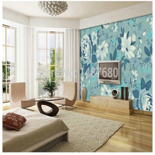 Beibehang Tapete Wallpaper For Walls Parede 3d Large Murals Television  Background Wallpaper Bedroom Living Room Simple