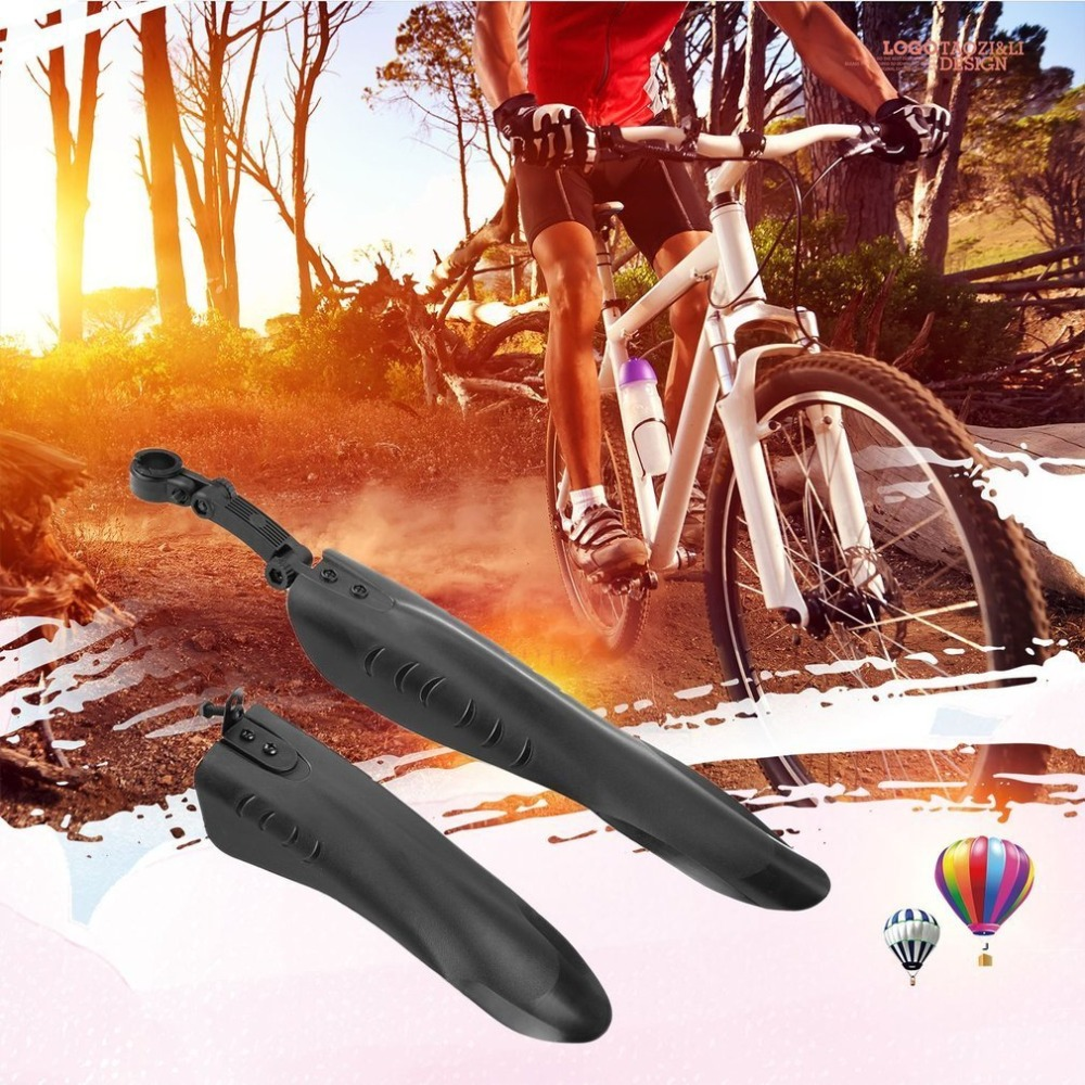 Road Bike Bicycle Cycling Telescopic Front Mudguard Rear Fenders Mud Guard