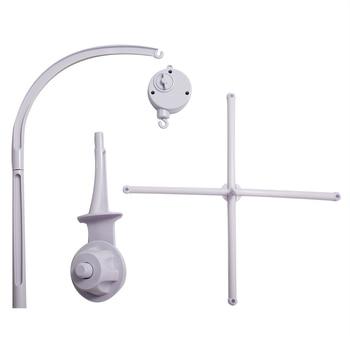 White Baby Crib Mobile Bed Bell Toy Holder Arm Bracket + Wind-up Music Box Best Children's Lighting & Home Decor Online Store
