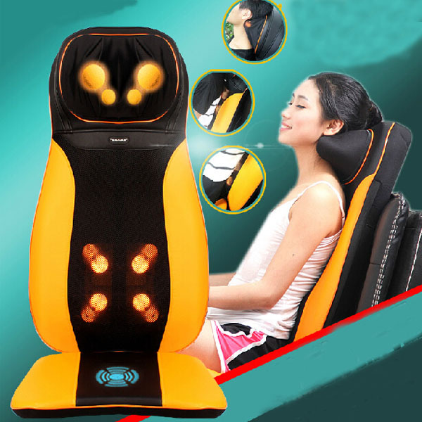 Thai-Style Household&Car Use Massage Pad Electric Infrared Heating Massager Chair